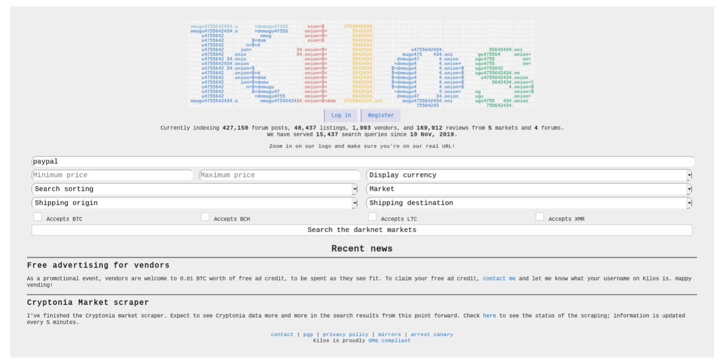 Darknet searching списки сайтов для tor browser hyrda вход