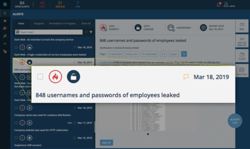 Discover Exposed Employee Credentials