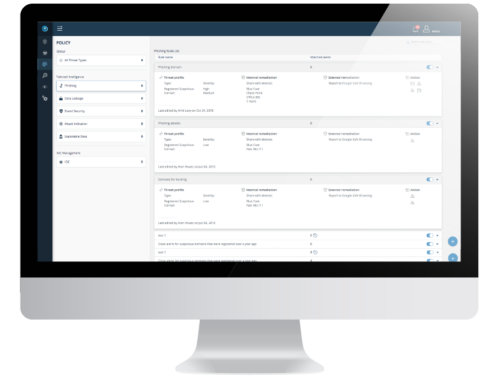 Threat Orchestration Automated Policies Software Screenshot