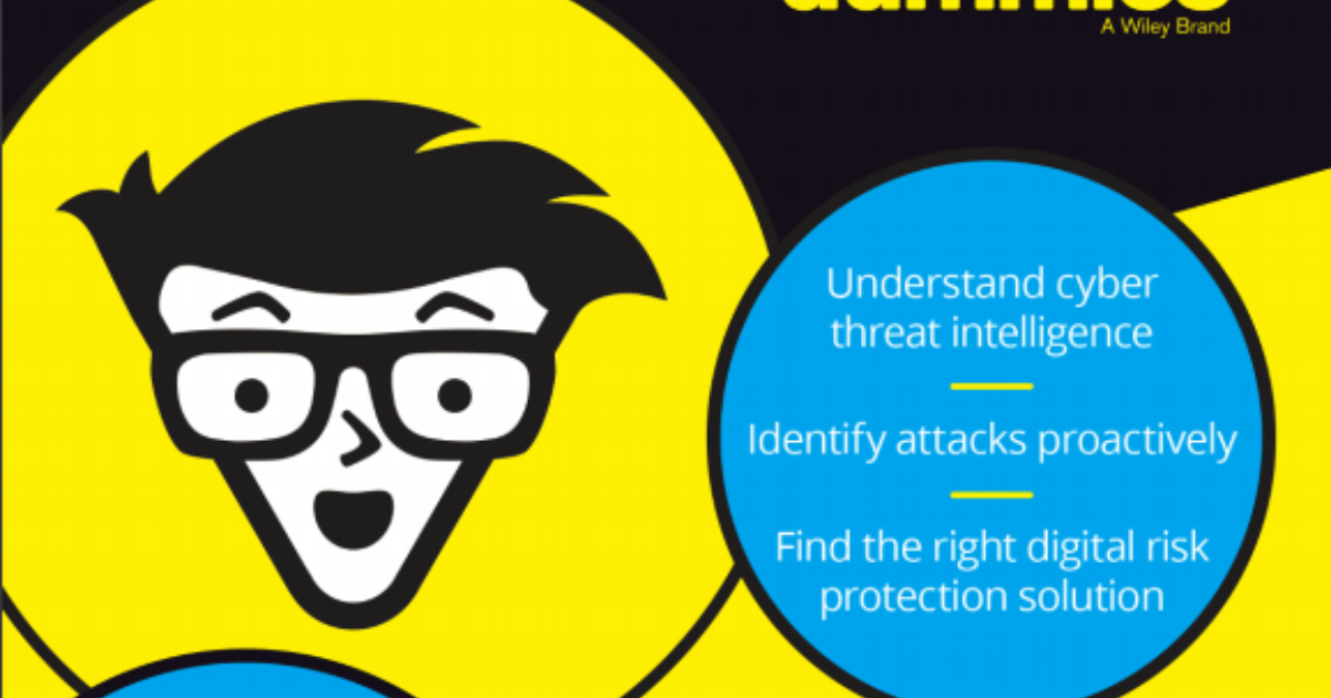 digital risk protection for dummies